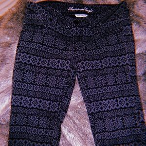 Pattern super stretch American eagle skinny jeans